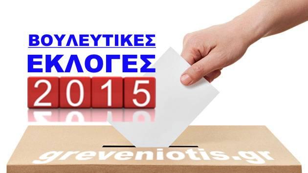 Γρεβενά εκλογές 2015